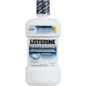 Listerine Whitening Pre-Brush Rinse Vibrant White Review