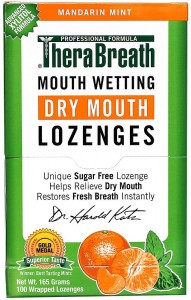 TheraBreath Dentist Recommended Dry Mouth Lozenges