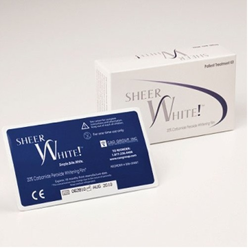 Sheer White! 20% Professional Teeth Whitening Strips
