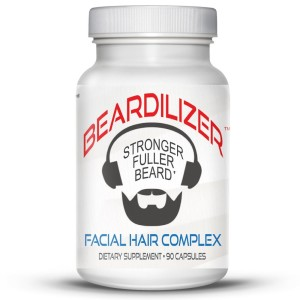 Beardilizer Facial Hair and Beard Growth Complex for Men