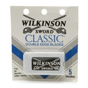 Wilkinson Sword Classic Double Edge Safety Razor Blades