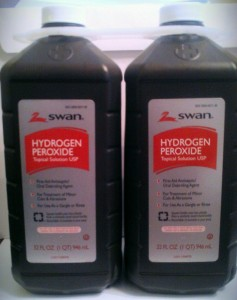 Other use for hydrogen peroxide