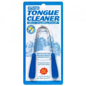 Dr. Tung's Tongue Cleaner, Stainless Steel