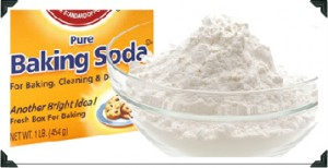Baking Soda home dandruff treatment