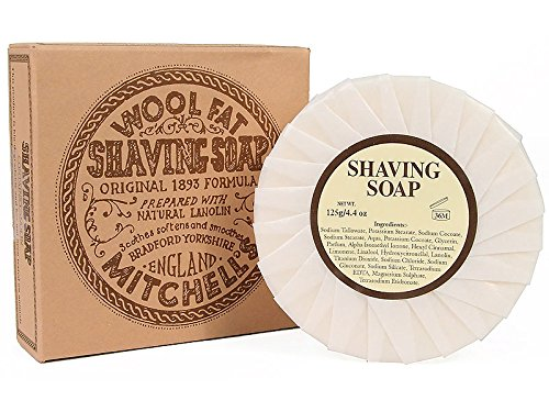 Mitchell wool fat shaving soap