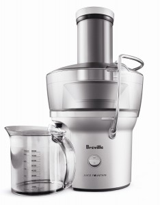 Breville BJE200XL Compact Juice Fountain 700-Watt Juice Extractor