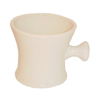 Ceramic Shaving Shave Soap Mug Bowl with Ball Grip Handle