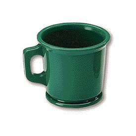 Marvy Shaving Mug Rubber Green