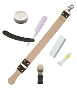 Straight Razor Shaving Set by Haryali Fashion London