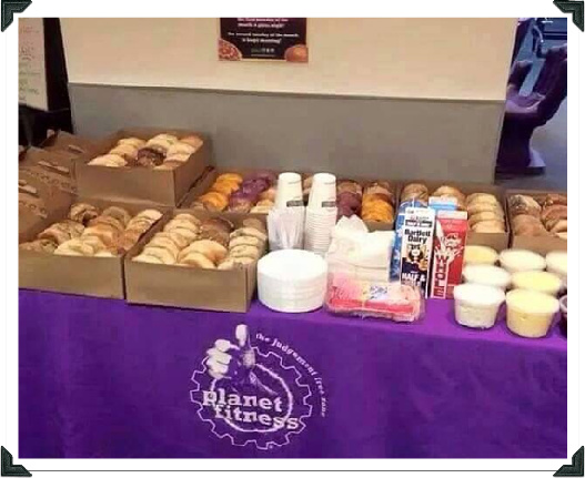 planet fitness free donuts days