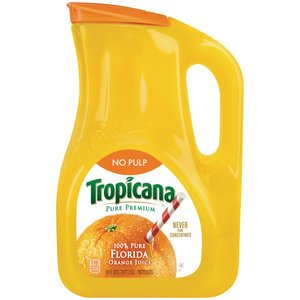 Tropicana Orange Juice Ingredients List