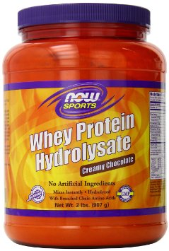 Now Foods Whey Hydrolysate Powder