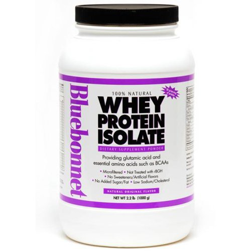 Bluebonnet Whey Protein Isolate Reviews