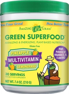Amazing Grass Green Superfood Multivitamin Pineapple Lemongrass