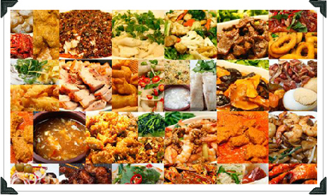 All You Can Eat Buffet Menus