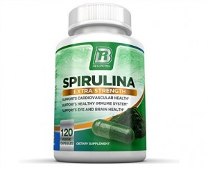 Top Rated Spirulina from BRI Nutrition