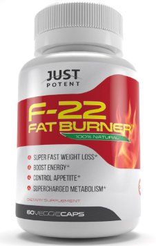 F-22 Fat Burner by Just Potent