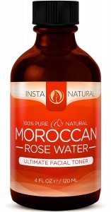InstaNatural Pure & Natural Moroccan Rose Water Facial Toner