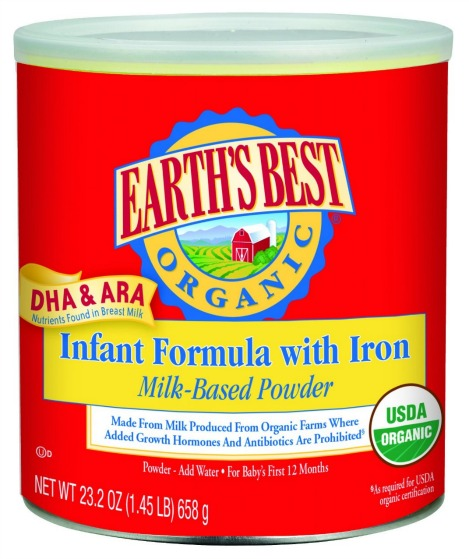 Earth's Best Organic, Infant Formula with Iron