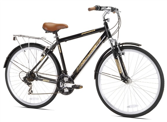 Northwoods Men's Springdale 21 Speed Hybrid Bicycle