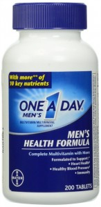 One a Day Men Health Formula Review