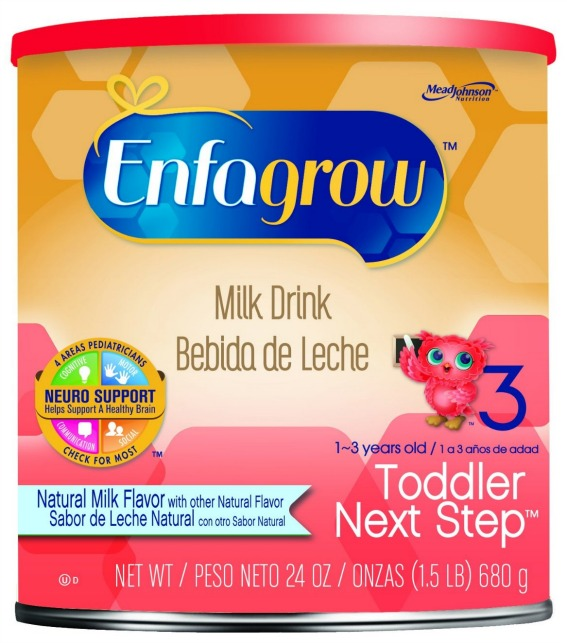 Enfagrow Next Step Natural Milk Powder Can