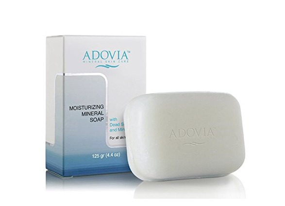 ADOVIA Dead Sea Salt Moisturizing Soap