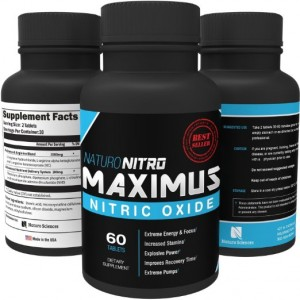 Maximus NO2 Nitric Oxide Tablets