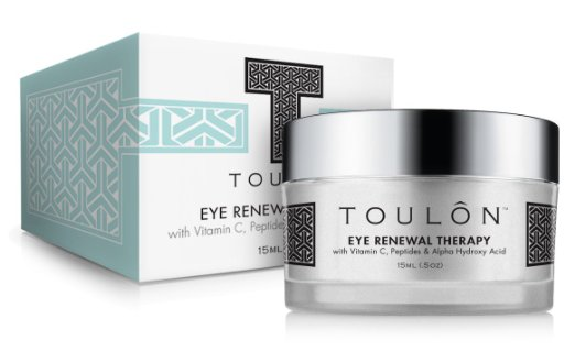 Toulon Eye Cream for Dark Circles and Puffiness