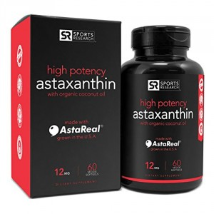 Sports Research Astaxanthin with Organic Coconut Oil