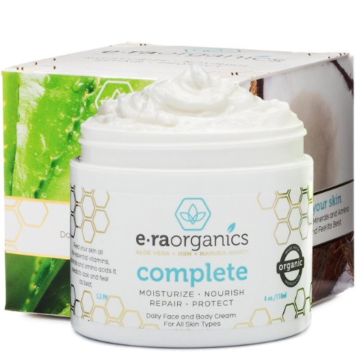 Era Organics Natural Face Moisturizer Cream Reviews