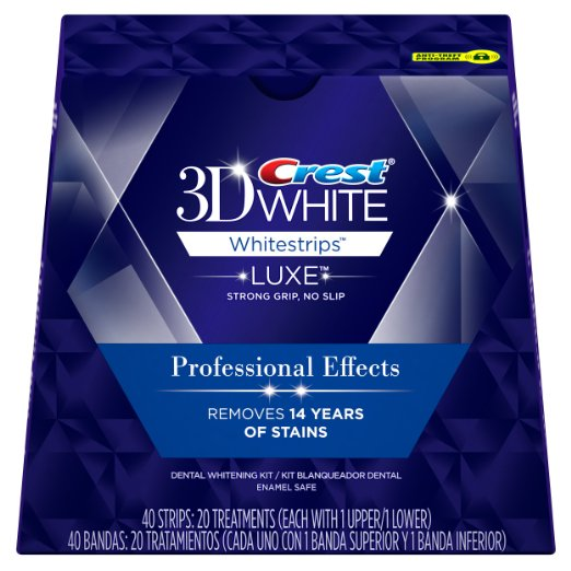 Crest 3D White Whitestrips Professional Teeth Whitening Kit