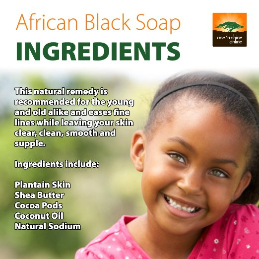 Raw African Black Soap Benefits