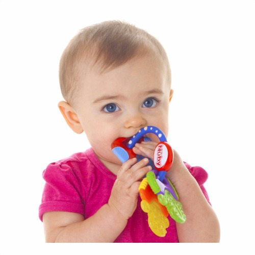 Nuby Icybite Teething Keys Review