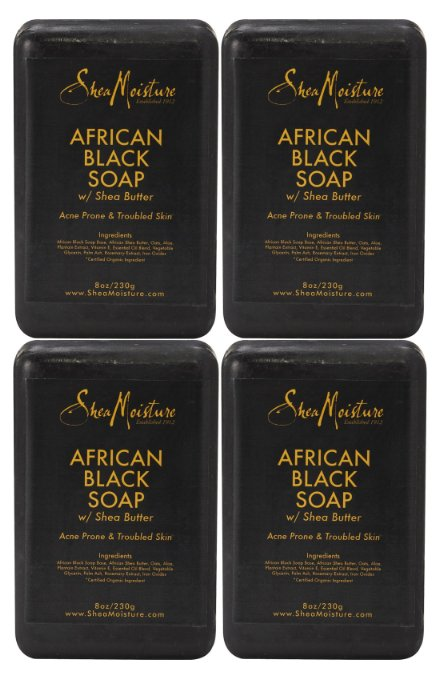 Shea Moisture African Black Soap Ingredients