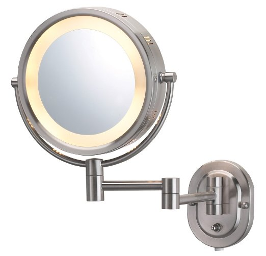 Jerdon HL65N Lighted Wall Mount Makeup Mirror Review