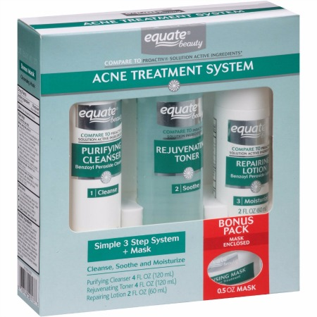 Equate 3-Step Acne Treatment System