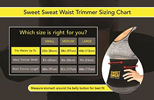 Features of the Sweet Sweat Premium Belt
