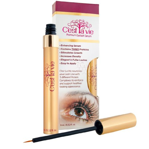 C'est La Vie Premium Eyelash Serum Review