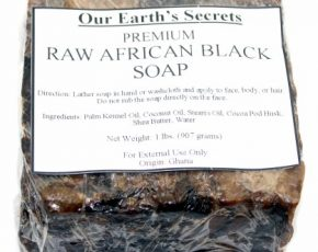 Are You Brave Enough to Try Raw African black Soap?