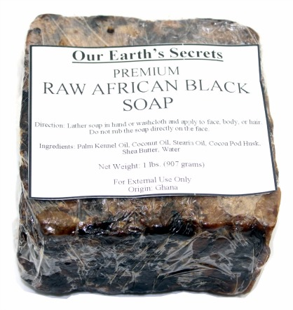 What is Raw African Black Soap