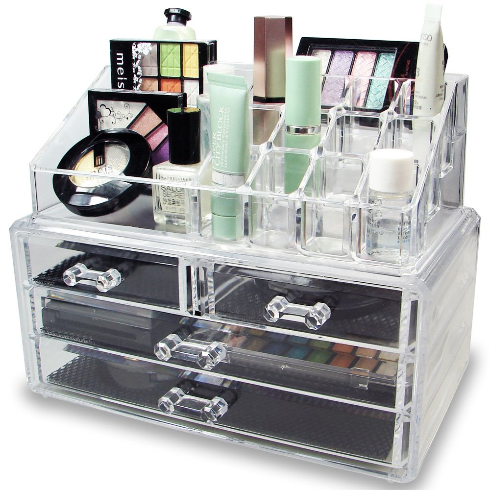 the leading organizers to use for your makeup collection
