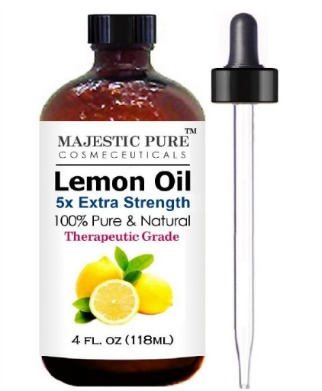 Majestic Pure Lemon Essential Oil for Aromatherapy