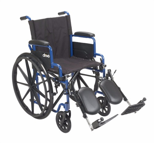 Drive Medical Blue Streak Wheelchair Review