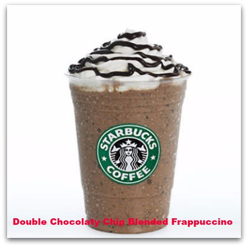 Double Chocolaty Chip Blended Frappuccino