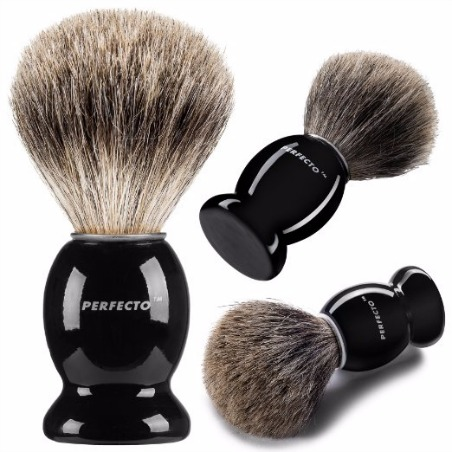 Perfecto Pure Badger shaving brush review