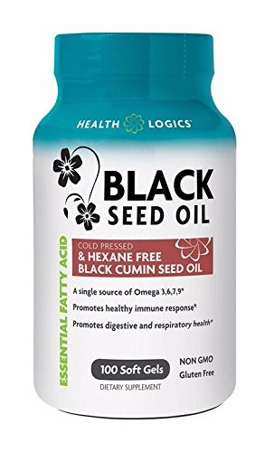 Health Logics Black Cumin Seed Oil Softgels