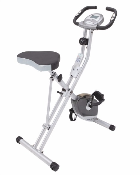 Exerpeutic Folding Magnetic Upright Bike