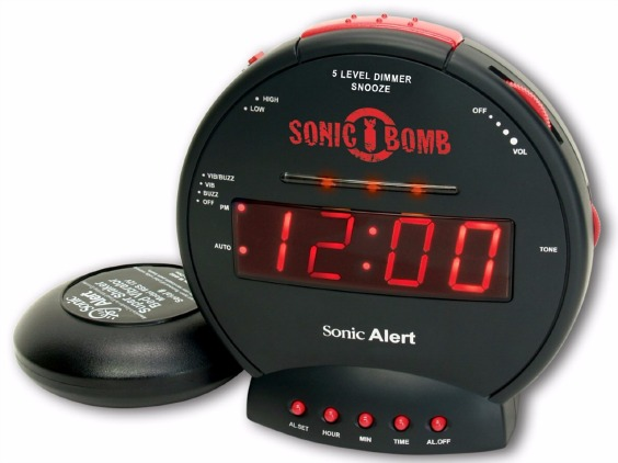 Sonic Alert Bomb Alarm Clock with Super Shaker Review
