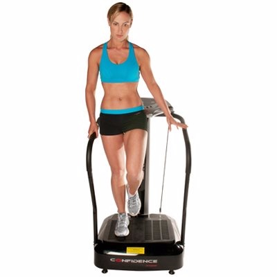 Confidence Fitness Slim Full Body Vibration Platform Machine Features